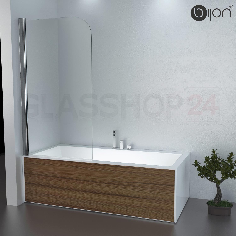 Badewannen Duschabtrennung Badewannenaufsatz Faltwand Glas ... | {Badewanne mit duschabtrennung 76}