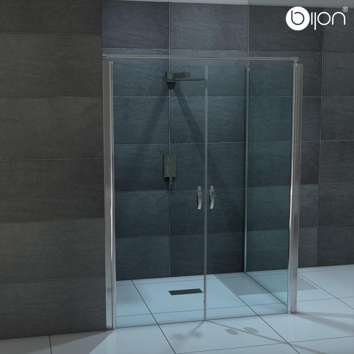 Dusche Glast?r Einstellen : Nischent?r Dusche Verstellbar : Pendelt?r + Seitenwand 70 120cm