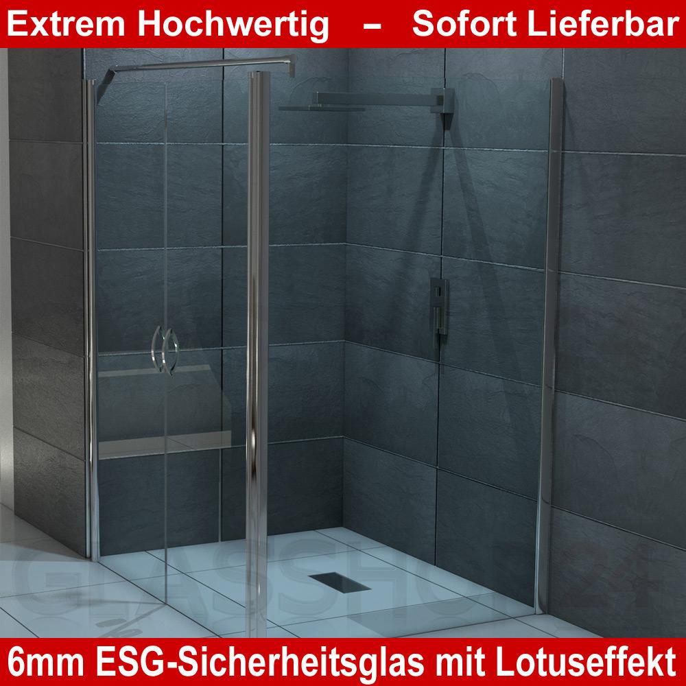 Dusche Pendelt?r Glas : Glas Eckdusche Nischent?r Pendelt?r + Seitenwand 70-120cm