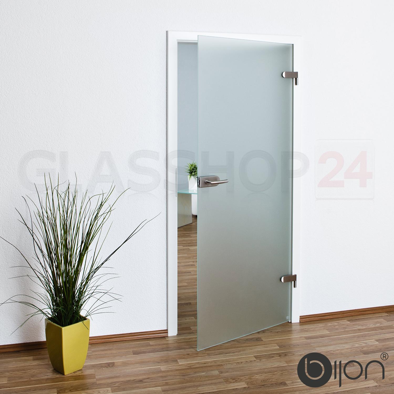 Zimmertüren glas satiniert  Glastür Studio / Office in 58,4 - 70,9 - 83,4 oder 95,9 cm Glas ...