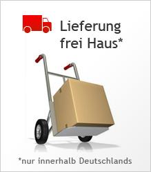 Lieferung frei Haus innerhalb Deutschlands