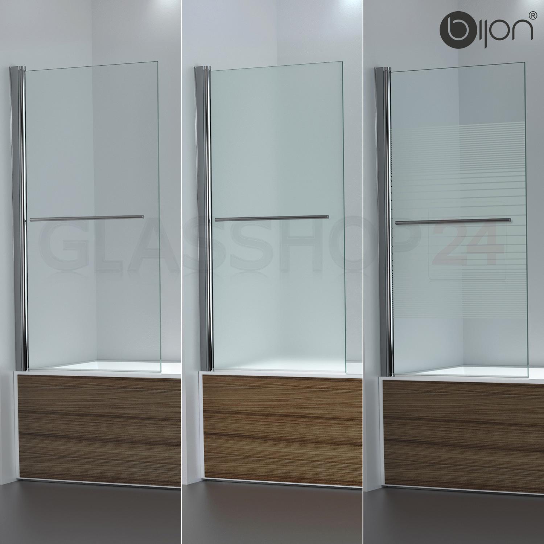 badewannen duschabtrennung badewannenaufsatz faltwand glas duschwand badewanne ebay. Black Bedroom Furniture Sets. Home Design Ideas