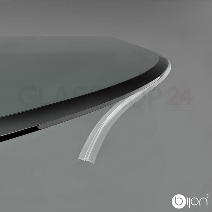 Produktfoto: 3-Fach Silikon-Dichtlippe für Glasbodenplatten