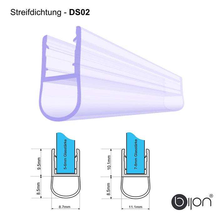 Streifdichtung - DS02 - Duschdichtung