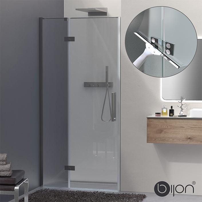 bijon® Design Nischendusche Klarglas
