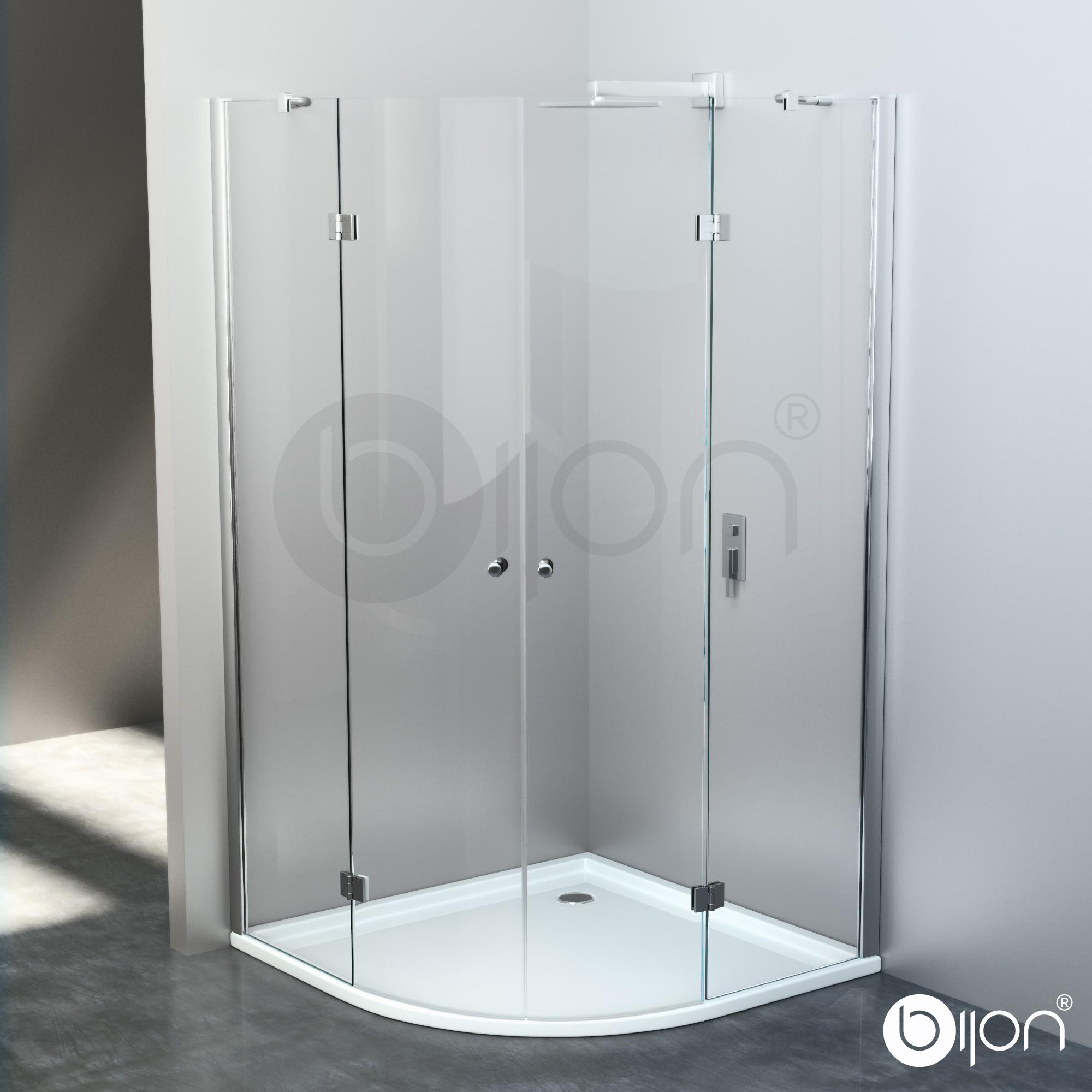 GLASSHOP24 - Günstige Kamin Bodenplatte aus Glas Funkenschutz | {Duschabtrennung glas rund 6}