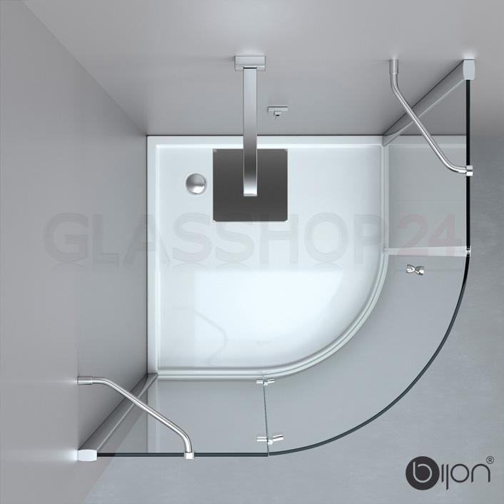 Produktfoto: Detailansicht - Duschabtrennung / Duschkabine