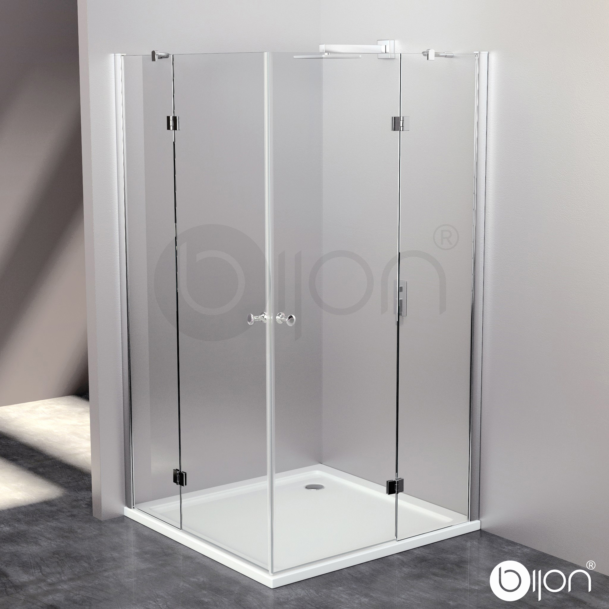 Duschabtrennung glas rund  GLASSHOP24 - Günstige Kamin Bodenplatte aus Glas Funkenschutz