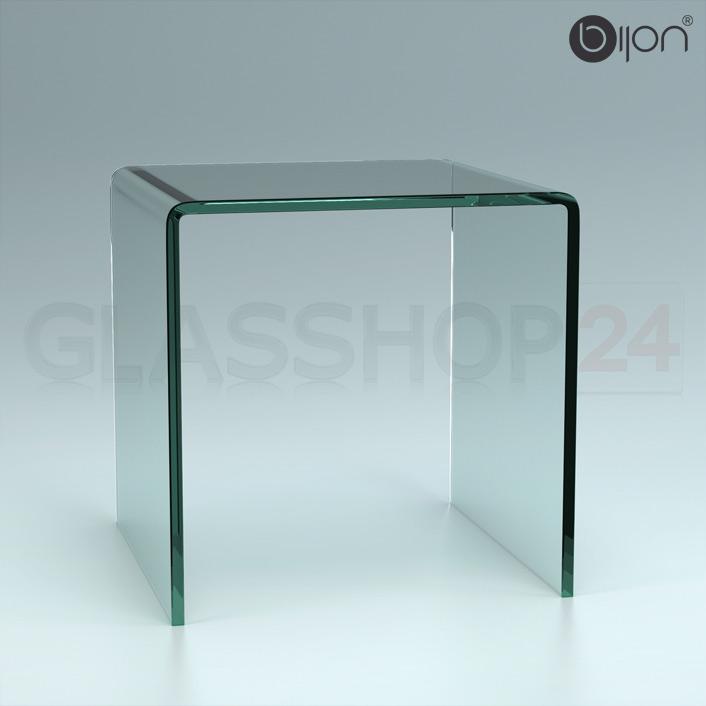 Designer couchtisch glastisch for Designer glastisch rund