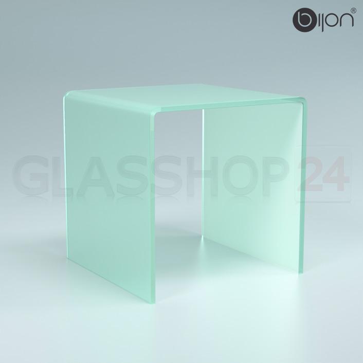 Glastisch Satiniert