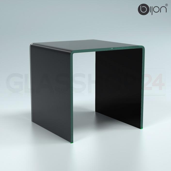 Glastisch schwarz