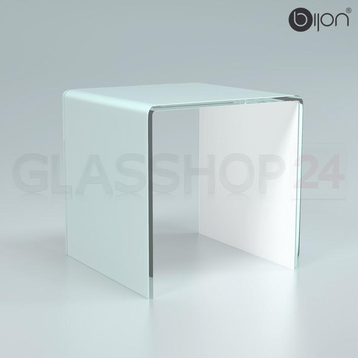Glastisch Superweiß - Glas ohne grün-schimmer