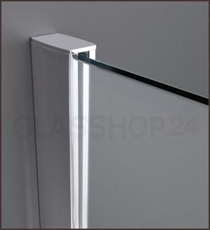 Gut gemocht Hochwertige Design Duschwand mit Nanoeffekt BC89