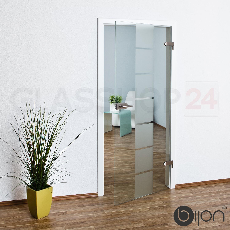 Glastür Studio / Office in 58,4 - 70,9 - 83,4 oder 95,9 cm Glas Tür ...