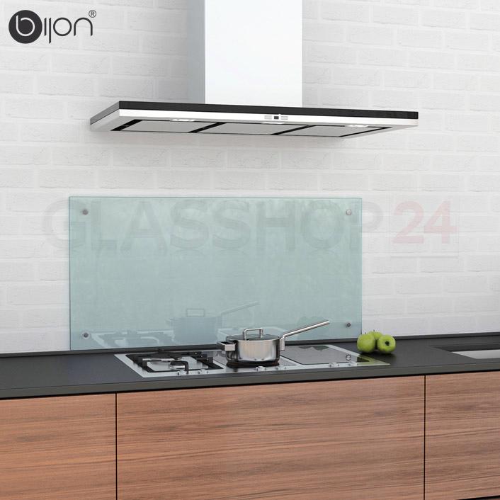 Glas Küchenrückwand matt