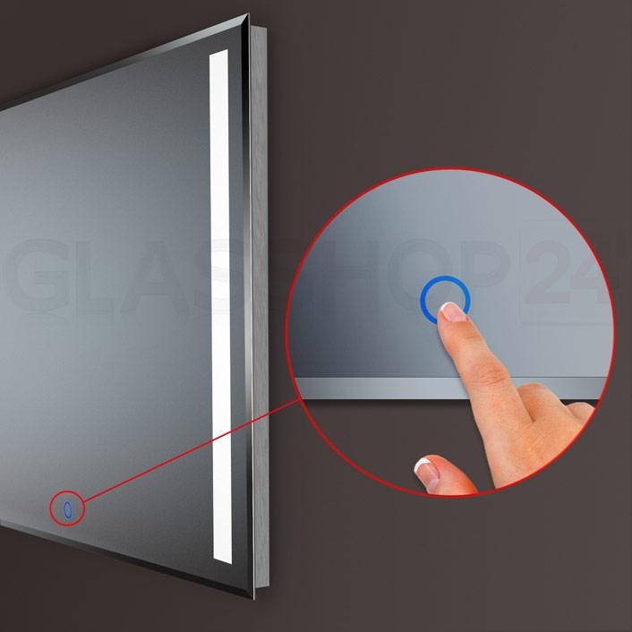 Detailansicht des Touch-Sensor-Feldes