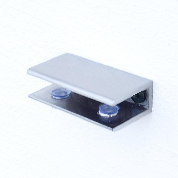 Produktfoto der Halterung, Farbvariante 2: Edelstahl optik (gebürstet)